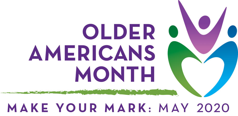 Older Americans Month 2020 logo