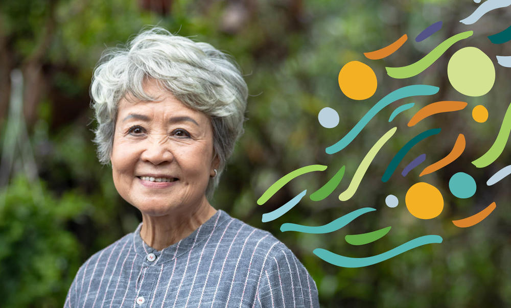 Older Asian lady