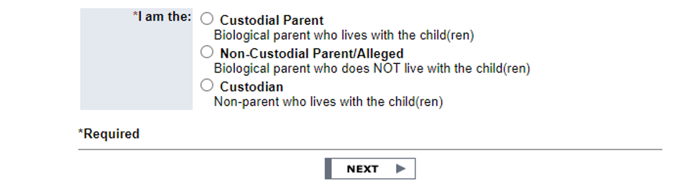Custodial parent